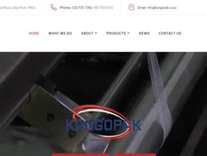 Kangopak launches new website